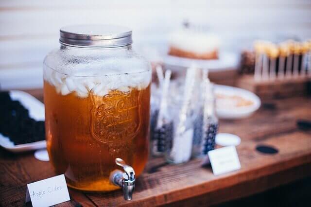 Apple Cider Vinegar Bottle Drink Health Remedy