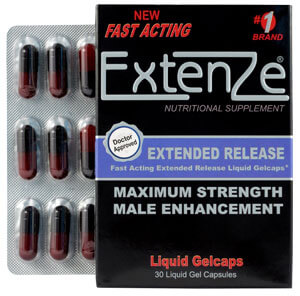 Extenze top erectile dysfunction supplement
