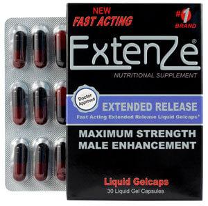 Extenze top erectile dysfunction supplement