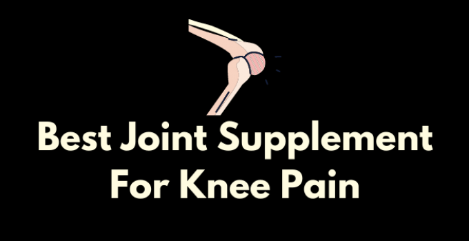 Best Joint Supplement For Knee Pain