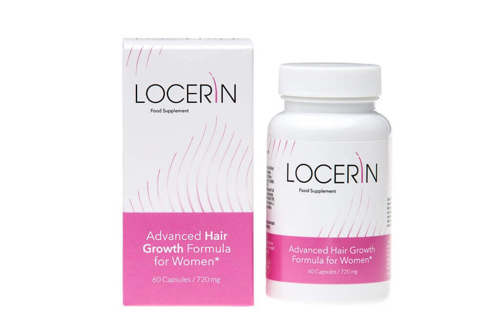Locerin hair regrowth pills for women