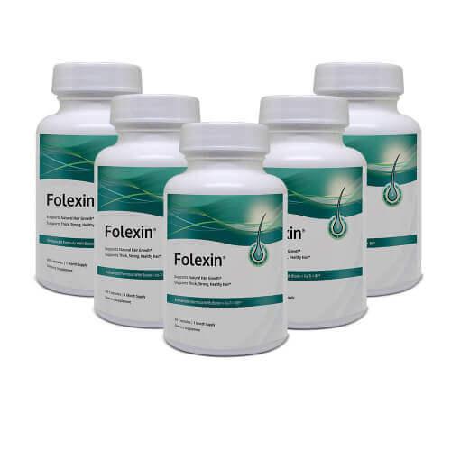 folexin 100% natural hair loss vitamin capsules