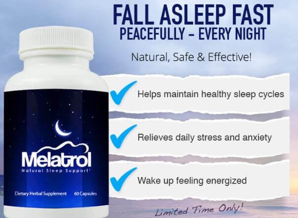 melatrol insomnia curing pills