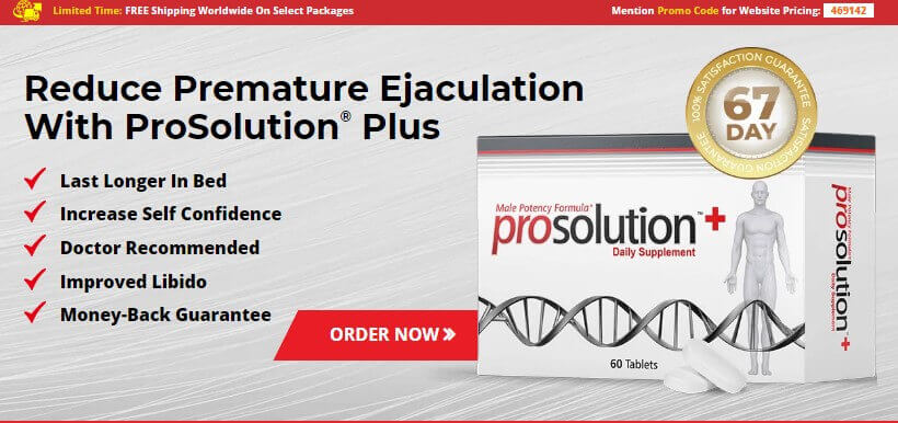 prosolution plus premature ejaculation